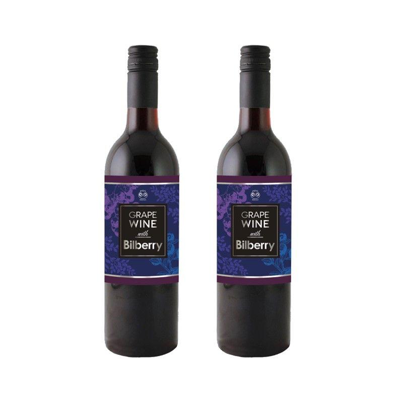 北欧のビルベリーワイン